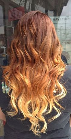 Ombre Hair Color Goldwell