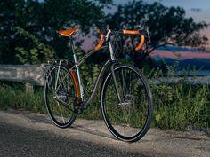 Budnitz bicycles zero ti honey lakeset