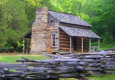 This was the 1st home built in Cades Cove by the first white European settlers.