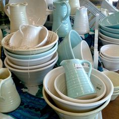 tony sly pottery Ceramic Jugs, Ceramic Planters, New Zealand Houses, Old Farm Houses, Store Windows, Store Displays, My Favorite Color, Shades Of Blue, Mud