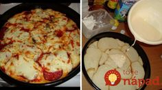 Pizza z toastového chlebíka Dumplings, Mashed Potatoes, Cauliflower, Pancakes, Pizza, Bread, Cheese, Toast, Vegetables