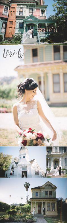 heritage square museum wedding // los angeles // teri b photography