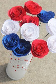 Spiral Paper Flower du papier et des idées