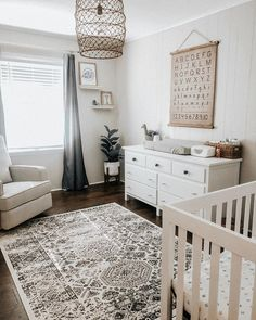 """Hayden Murphy on Instagram: """"Our nursery is finally complete! I am so in love with it and it is definitely the most put together room in our house, lucky baby. All we…"""""""