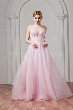 Cheap beaded chiffon dress, Buy Quality beaded evening dress directly from China beaded pageant dresses Suppliers: 2015 Stylish Floor Length Sequined Beading vestido de festa Strapless off the Shoulder A-line Organza Long Bridesmaid Dresses Pink Wedding Dresses, Wedding Dresses Plus Size, Long Bridesmaid Dresses, Cheap Wedding Dress, Wedding Gowns, Prom Dresses, Evening Dresses, Bridesmaids, Coco Chanel