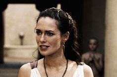 "Lena Headey as Queen Gorgo in ""300"""