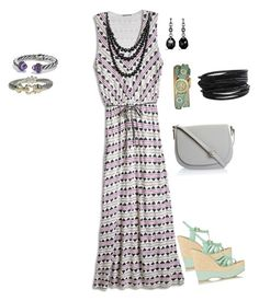 Cool and Breezy Maxi Dress for the Summer. Summer Maxi, Shoe Bag, Polyvore, Stuff To Buy, Shopping, Collection, Design, Women, Fashion
