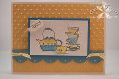 FS208 Tilly's Tea by Emma F - Cards and Paper Crafts at Splitcoaststampers