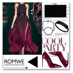 """""""ROMWE III"""" by abecic ❤ liked on Polyvore featuring Miu Miu and Charlotte Olympia"""
