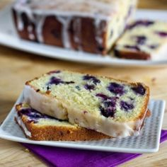 Insanely moist and flavorful Lemon Blueberry Bread - perfect for Mother's Day brunch!