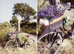 Lavender Farm Tipi Wedding Bicycle http://www.rebeccaweddingphotography.co.uk/