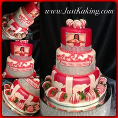 My wonderful sorority! Delta Sigma Theta Gifts, Red Pyramid, Divine Nine, Delta Girl, Omega Psi Phi, Sorority Life, Unique Cakes, Fraternity, Party Cakes