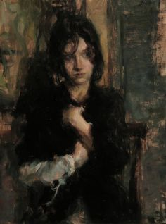 Ron Hicks ~ To Myself (oil)