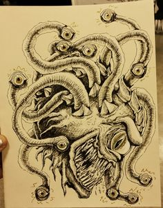 Beholder Commission By Emily Adele on Patreon