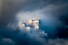 A view worth every frozen finger. Salzburg Austria, Order Prints, My Images, The Good Place, Places To Go, Online Shipping, Clouds, Explore, Instagram Posts