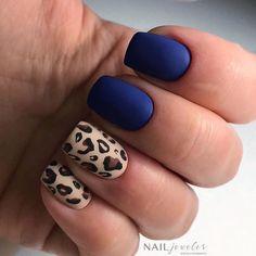Nails gel, we adopt or not? - My Nails Cute Nails, Pretty Nails, Diy Nails, Leopard Nails, Leopard Nail Designs, Nail Time, Nail Envy, Nagel Gel, Perfect Nails