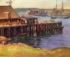 Frank Duveneck, Dock Workers, Gloucester - 1910