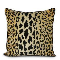 Leopard Throw Furbish Studio