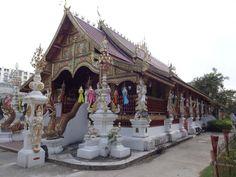 Wat Ming Muang, Chiang Rai, Thailand