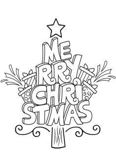 Christmas Coloring Sheets, Printable Christmas Coloring Pages, Free Christmas Printables, Christmas Activities, Christmas Ornament Coloring Page, Free Printables, Christmas Doodles, Christmas Drawing, Diy Christmas Cards