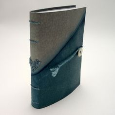 Notebook - Indigo dyed leather Kate Bowles