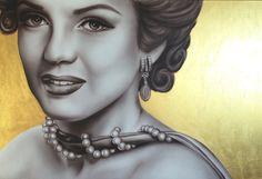 Marilyn Monroe Painting Airbrush