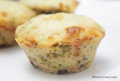 pastelitos de patata y brócoli