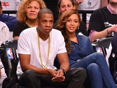 Pin for Later: Beyoncé and Jay Z Don't Appear Bothered by the Solange Drama