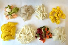 Set de Pasta de fieltro escoger 3 variedades por CutesyKats en Etsy