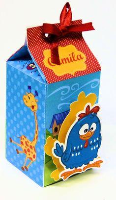 Caixa Milk Galinha Pintadinha Scrap