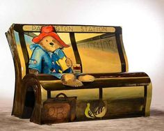 A collaboration between the National Literacy Trust and Wild in Art , the BookBenches feature stories linked to London.