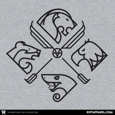 Minimal Hogwarts T-Shirt - Harry Potter T-Shirt is $11 today at Ript!