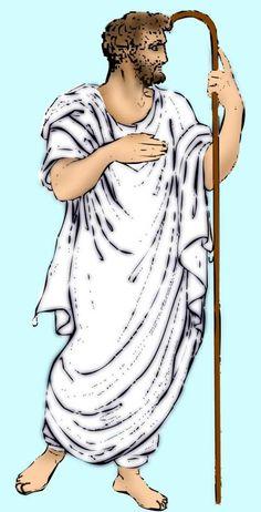 Al igual que los griegos, los romanos utilizaban fundamentalmente dos prendas, la túnica y el capote. Algunos estilos de túnica correspondían al rango social del portador.