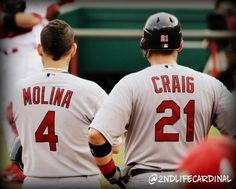 My 2012 Pics: Yadier Molina & Allen Craig 7/14/12 vs. Reds
