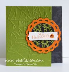 stampin up halloween card ideas | Julie's Stamping Spot -- Stampin' Up! Project Ideas Posted Daily ...