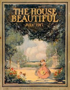 The House Beautiful, July 1917; art by Harold Mcmennamin