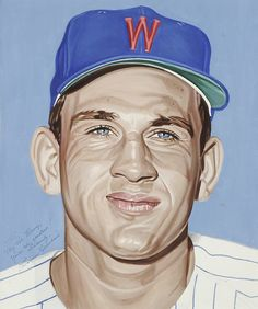 Harmon Killebrew portrait by Andy Jurinko