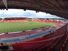 Gateshead Athletics Stadium.