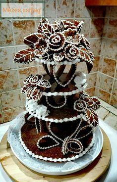 Cute Cookies, Soul Food, Birthday Wishes, Wedding Designs, Gingerbread, Wedding Cakes, Goodies, Birthdays, Food And Drink