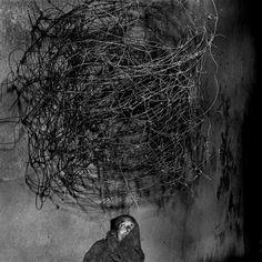 Roger Ballen Twirling wires 2001