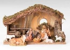 Fontanini Nativity (set of 9) Item #54488