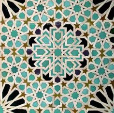 Loving some Morrocan tile.....wonder if I could turn this pattern into a quilt? I need to break out the graph paper!
