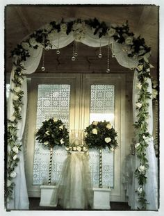 Fabulous Arch available to Hire from Winton Wedding and Event Hire