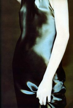 Angela Lindvall photographed by Paolo Roversi.