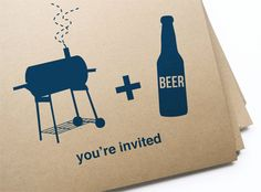 Quick, DIY printable invitations you'll love to send and they'll love to get