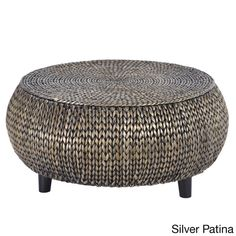 Gallerie Decor Bali Breeze Low Round Coffee Table