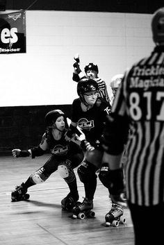 Recovering from Roller Derby disillusionment...Keep going!