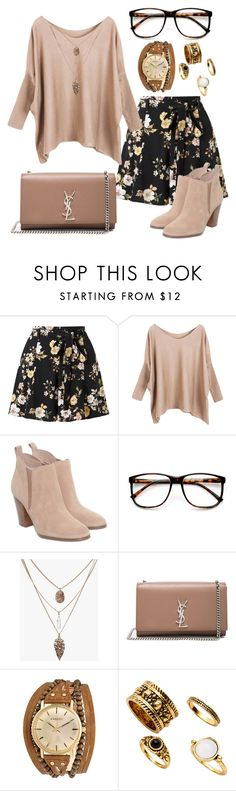 """Kit Kat ❤"" by jodie-chatwin on Polyvore featuring Miss Selfridge, Michael Kors, ZeroUV, Yves Saint Laurent and Kahuna"