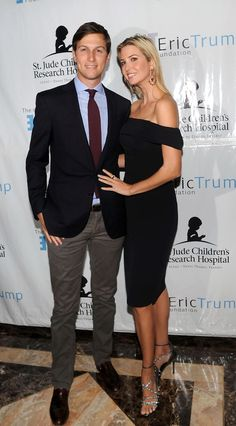 BRIARCLIFF MANOR, NY - SEPTEMBER 15: Jared Kushner and Ivanka Trump attends the 8th Annual Eric Trump Golf Tournament at Trump National Golf Club Westchester on September 15, 2014 in Briarcliff Manor, New York. (Photo by Bobby Bank/WireImage) via @AOL_Lifestyle Read more: http://www.aol.com/article/news/2016/11/15/donald-trump-s-adorable-granddaughter-becomes-an-internet-sensat/21606551/?a_dgi=aolshare_pinterest#fullscreen