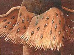 Cherub Angel Picture-Cherub Surreal Painting (View Exhibit)